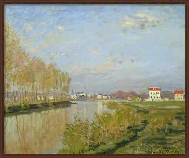 Reproducción de arte  The Seine at Argenteuil, 1873