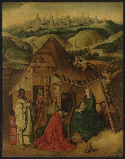 Reproducción de arte  Adoration of the Magi, early 17th century