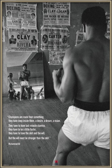 Póster  Muhammad Ali - gym