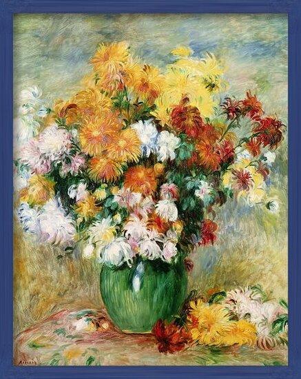Reproducción de arte Bouquet of Chrysanthemums, c.1884