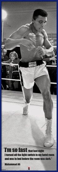 Póster  Muhammad Ali - fast