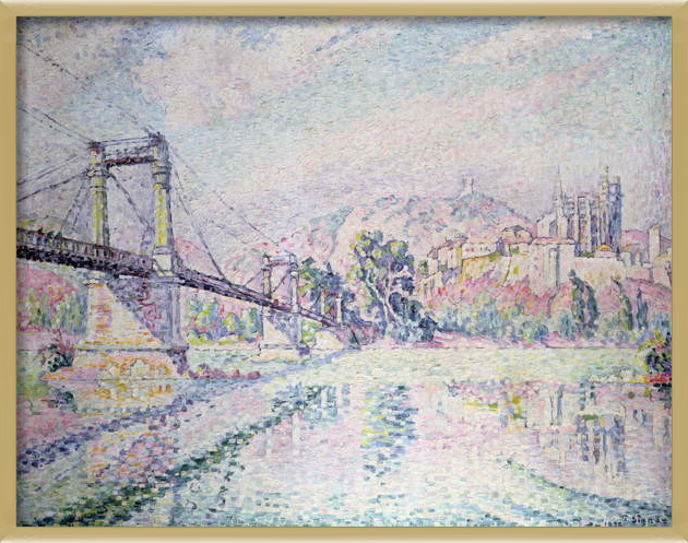 Reproducción de arte  The Bridge, 1928