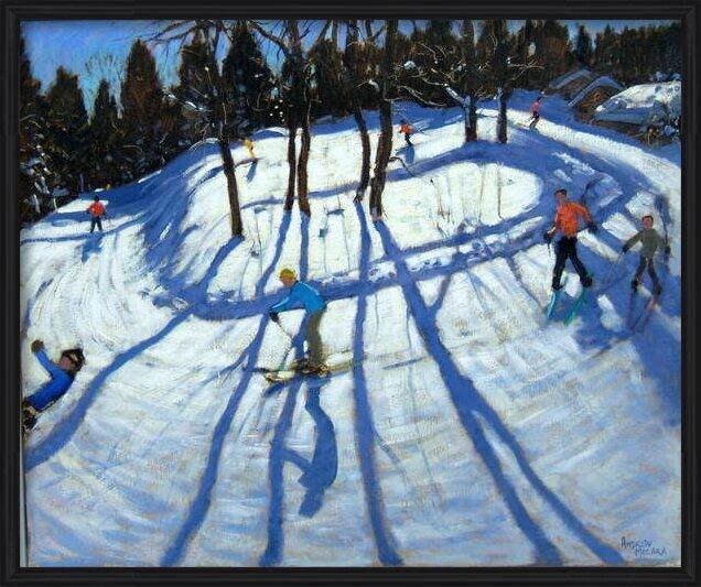 Reproducción de arte  Winding Trail, Morzine