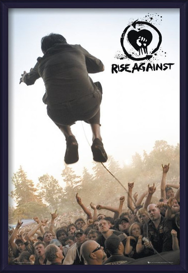 Póster Rise against - music