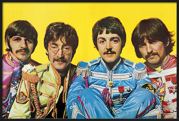 Póster Beatles - Lonely Hearts Club