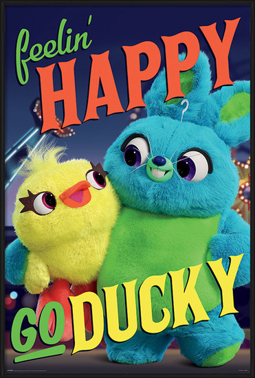 Póster  Toy Story 4 - Happy-Go-Ducky