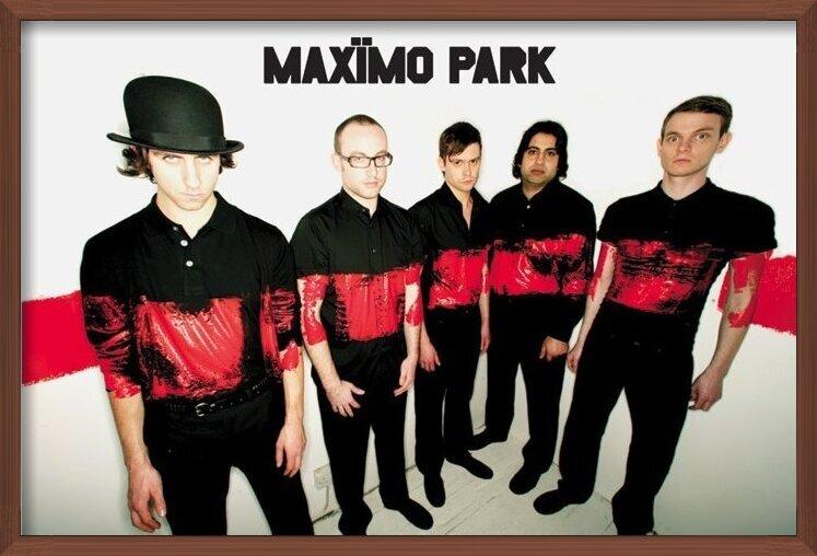 Póster  Maximo park - paint