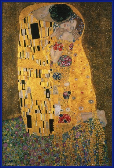 Póster  Klimt - the kiss