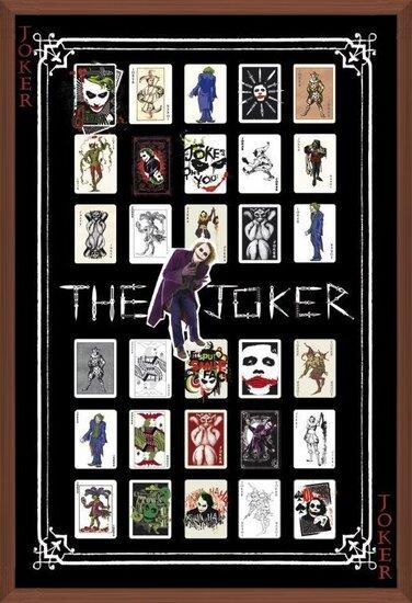 Póster  BATMAN - joker pack