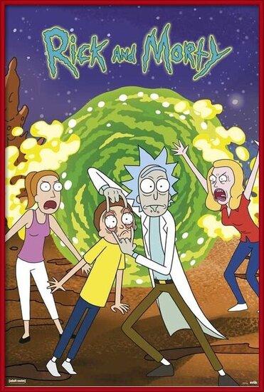 Póster Rick & Morty - Portal