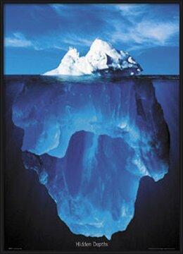 Póster Hidden depths