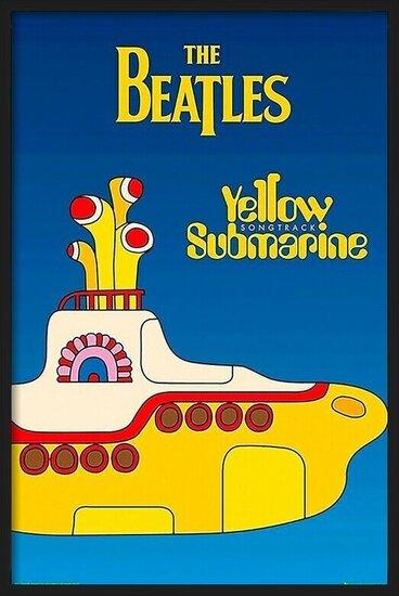 Póster  Beatles - yellow submarine