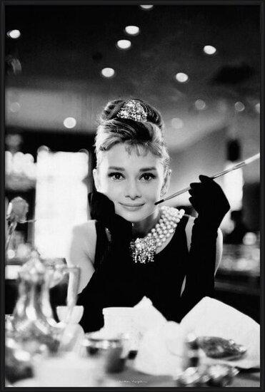 Póster  Audrey Hepburn - breakfast
