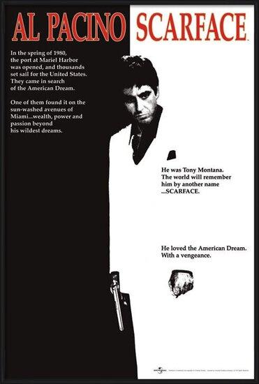 Póster Scarface - movie