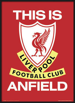 Póster  Liverpool - this is anfield