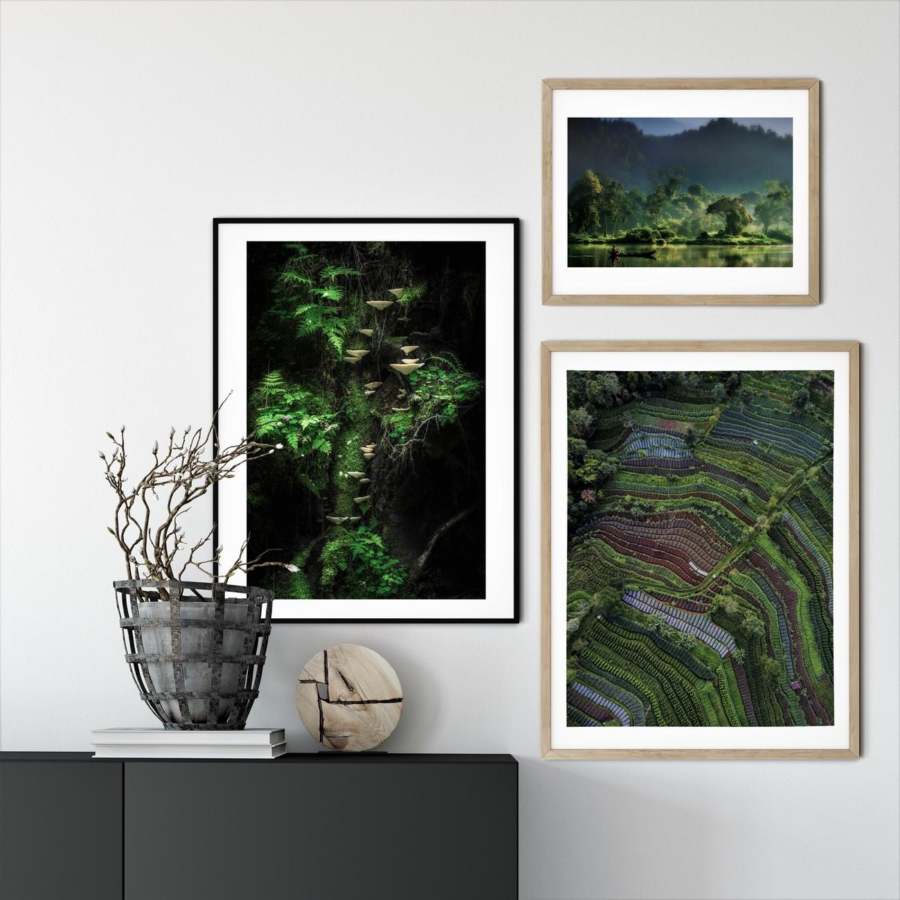 Arte fotográfico Painting of  Nature