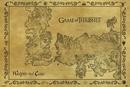 El mapa Antiguo de Juego de Tronos