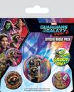 Guardianes de la Galaxia Volumen 2 - Rocket & Groot
