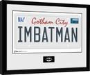 Batman Comic - License Plate