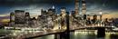 Manhattan - night and moon