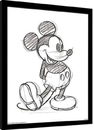 Mickey Mouse - Sketched Single